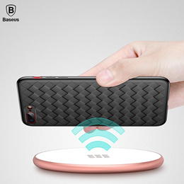Baseus Coque Thin Weaving Patterned Silicone Case [iPhone 8 8 Plus]