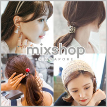 Hair Accessories Hairband Headband Hair clip  Hair styling Accessories Rubber band Hair band tie