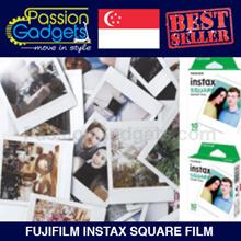 ♥ Fujifilm Instax Square Film ♥ 10pcs ♥ SQ10 ♥ Polaroid Instant refill Films