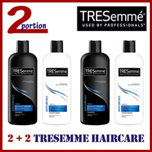 [2+2] 2 x 500ml TRESemme Shampoo + 2 x 500ml Conditioner Bundle