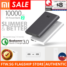 [USE $8 COUPON! IT FAIR SALE!!] Xiaomi 100% Authentic Gen 2 Power Bank 🌟Quick Charge 3.0 Dual USB