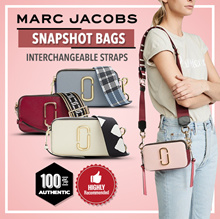 100% Authentic [Marć Jaćobs] SNAPSHOT SMALL CAMERA BAG / LEATHER BAG / Comes with receipt