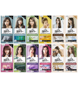 LIESE DESIGN/NATURAL SERIES CREAMY BUBBLE HAIR COLOR (ASSORTED)