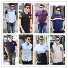 Mens Plus Size Shirt/ Plus Size wear/over 100kg Plus Size Clothing/Plus Size blouse(12)