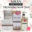 1Set Rm86【100% AUTHENTIC GUARANTEE】AISAN TOP TEAM Pure Flower Extract Shampoo + Hair Mask