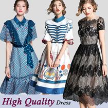 Promotions  High quality dress elegant dress/European British style/Office dresses/Long dress