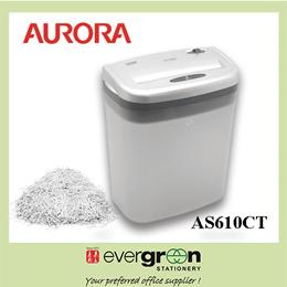 Aurora AS610CT 6 Sheet Light Duty Crosscut Shredder