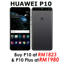 [P10 Plus AT RM1,980] Huawei P10 / P10 PLUS (Huawei Malaysia Warranty) ** EXCLUSIVE DIGITAL COUPON WORTH RM300
