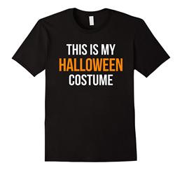 This Is My Halloween Costume T-shirt Men Sports T-shirt