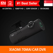 💖English Version💖[Xiaomi 70 Mai]1080P Full HD Wireless Car Recorder Camer Mini Smart WiFi Ni