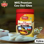 MSG Premium Cow Desi Ghee 1L