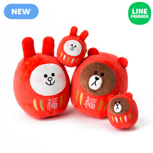 [LINE FRIENDS] DARUMA DOLL BRWON CONY