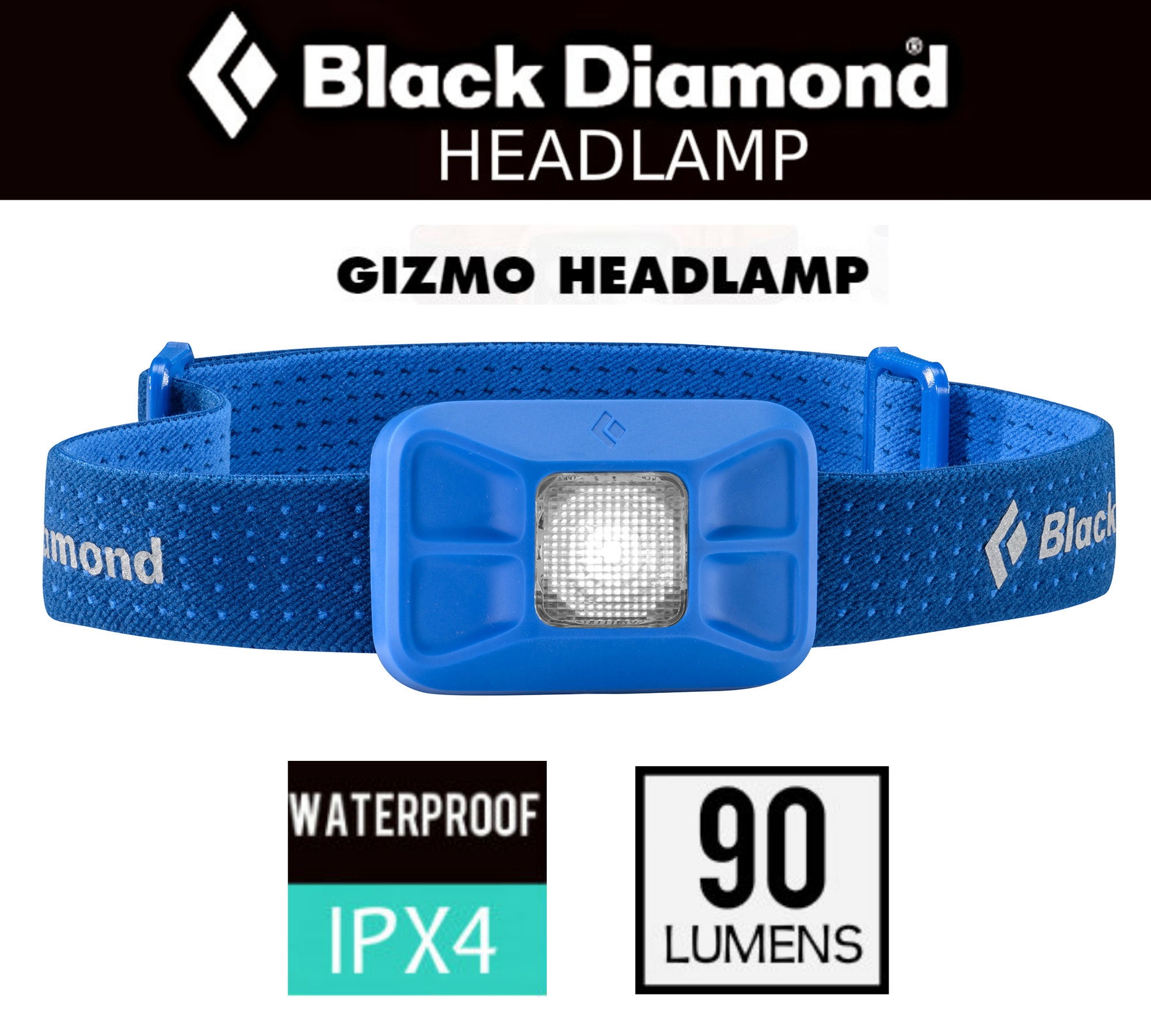 Acampada y senderismo Black Diamond Gizmo HEADLAMP Octane 90