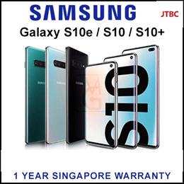 Samsung Galaxy S10 / S10+ / Flagship Phone with 1 Year Warranty By Samsung Singapore