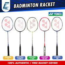 MADE IN TAIWAN YONEX RACQUETS DUORA 88 AND VOLTRIX RACKETS FREE BAG
