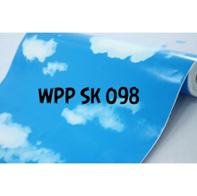 Wallsticker motif awan DIY Wallcovering