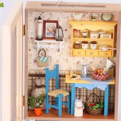 very beautiful handmade doll houses grannys kitchen assemble dollhouse wooden doll houses diy do it - Grannys Kitchen