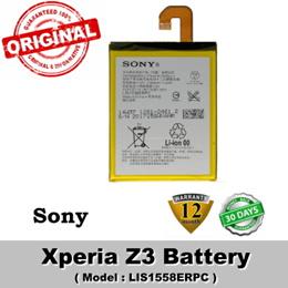 Original Sony Xperia Z3 D6603 D6653 D6616 Battery Model LIS1558ERPC Battery 1 Year Warranty