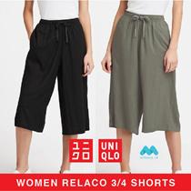 BEST SELLER - Celana Kulot Relaco Uniqlo 3/4 Pants - MASIH RUNNING DI COUNTER RESMI