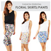 Fashion Essential Floral Skirts And Pants