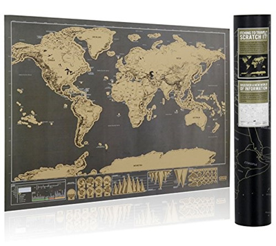 SCRATCHMAP Search Results QRanking Items Now On Sale At Qoosg - World map to mark your travels