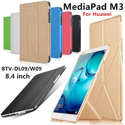 best service e3e19 06f5d Case For Huawei MediaPad M3 Case Cover M3 8.4 inch Leather BTV-DL09 BTV-W09  Protective Shell Protect