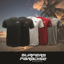 (NEW IN!) Surfers Paradise 034 – Basic Cotton Logo Tee