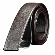 36c914e0a24 XHtang Xhtang Mens Genuine Leather Belt without Buckle Ratchet Belt 35mm 1  3 8