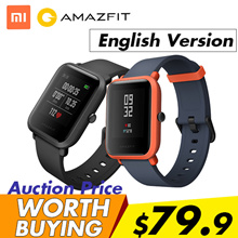 ★English Version★ Xiaomi Huami Amazfit Bip Youth (Pace Lite) Smart Watch Bluetooth 4.0 GPS