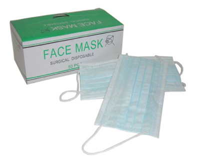 - Face 3-ply Friendlybundle Mask Of 4 Coupon box Disposable 50pc