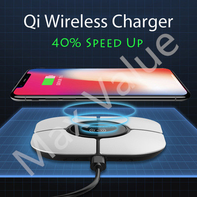 10W Qi Wireless Chargers ❤ thicknes | DIY Design s for  iPhone/iWatch/Samsung/Androids |faster charge