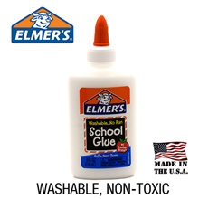 Elmers Non-Toxic Washable School Glue For Slime Making