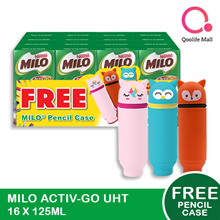 [NESTLÉ®] Milo UHT Chocolate Malt Packet Drink 16x125ml (FREE PENCIL BOX)