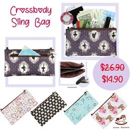 *Super Sale! *Uma hana Crossbody Sling Bag   Waterproof Pouch   大硬碟包   UMA139