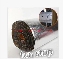 Car sound insulation cotton hood insulation cotton trunk door stopper shock plate aluminum foil pad
