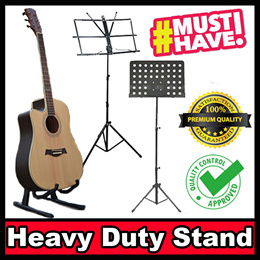 Heavy Duty Music Book Stand / Menu stand for Shops / Display Stand / Guitar Stand / Ukelele Stand