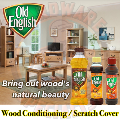 Qoo10 Old English Wood Furniture Oil Conditions Protects Scratch Cover Furniture Deco