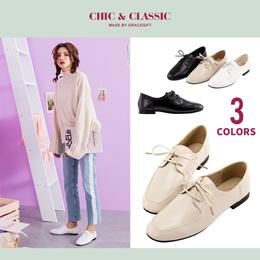 Gracegift-Classic Square-toe classic oxford/Women/Ladies/Girls Shoes/Taiwan Fashion
