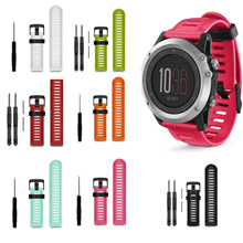 [Garmin] Fenix 3 Fenix 5X Silicone Watch Strap Replacement ♤ 26mm Sports band ♤