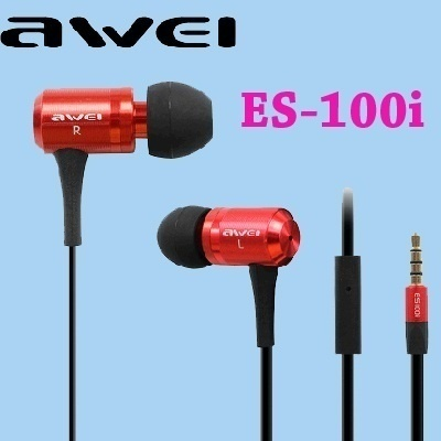 590c8d9df1c Super Bass Stylish Sound Awei ES100i In-ear Fashion Earphone For iPhone  Samsung Htc Earphones