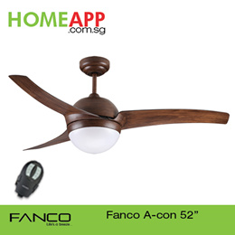 [5 Days only!!] ★★ FANCO A-CON ACON 42 52 ★★ Ceiling fan with Light n Remote.