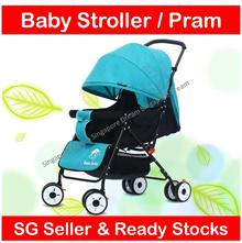 Baby Baby Stroller for Newborn and Toddler / Portable Ringan dan Kuat Pram / Baby Carrier