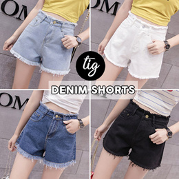 TIG SALE ★ DENIM SHORTS COLLECTION ★ FREE SIZE