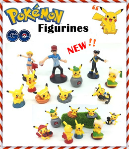 ♥  Pokemon Go ♥ Figurines ♥ Cake toppers ♥ Pokemon Monster ♥ Pikachu ♥ Toys ♥ Tsum Tsum ♥ plush ♥ Complete set of action figurines ♥