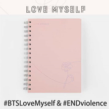 [BTS] 2017 BTS LOVE MYSELF [BTS NOTEBOOK] BTS LOVE MYSELF 1st Official MD UNICEF bangtan KPOP