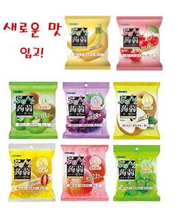 무료배송!! 새로운 맛 입고!! 오리히로 (ORIHIRO) 곤약젤리 (곤약 젤리) 파우치 마음대로 골라 담을 수 있는 24봉지(2박스) 세트!