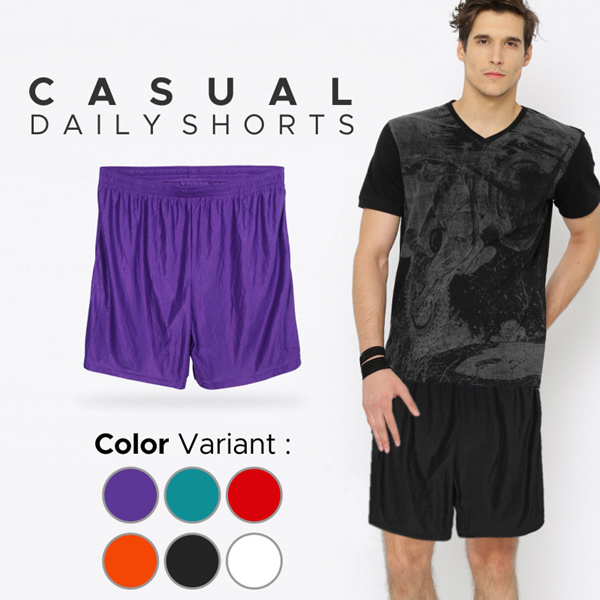 New Collection Man Casual Daily Short Star Mixx/Man Pants/Celana Pendek/Celana Olahraga Deals for only Rp55.000 instead of Rp55.000