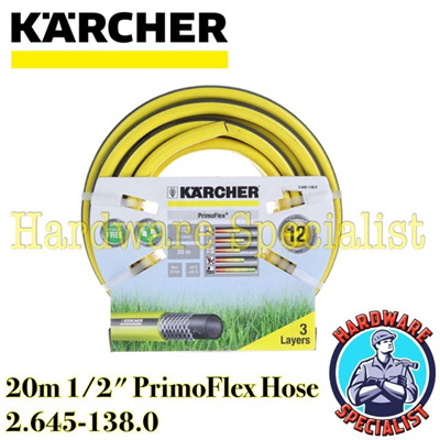 qoo10 karcher 20m 1 2 inch primoflex water hose tools. Black Bedroom Furniture Sets. Home Design Ideas