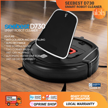 [AUCTION] SEEBEST ROBOT VACUUM CLEANER + WATER TANK More Choices Available.