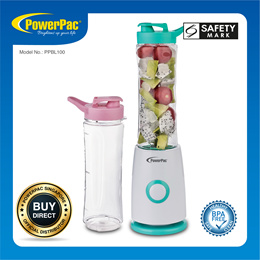 PowerPac Personal Juice Blender with 2x BPA Free Jugs (PPBL100)